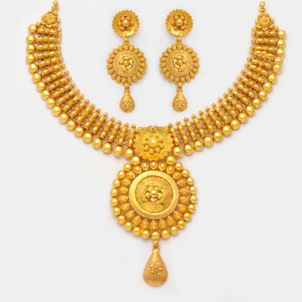 Product - WHPS399.006 | GoldNecklaceSet | NecklaceSet | Gold | Jewellery
