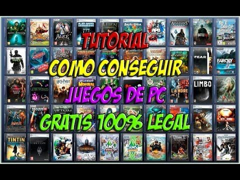 TUTORIAL COMO CONSEGUIR JUEGOS DE PC GRATIS 100% LEGAL