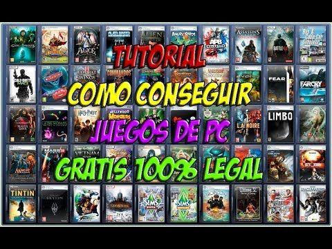 TUTORIAL COMO CONSEGUIR JUEGOS DE PC GRATIS 100% LEGAL
