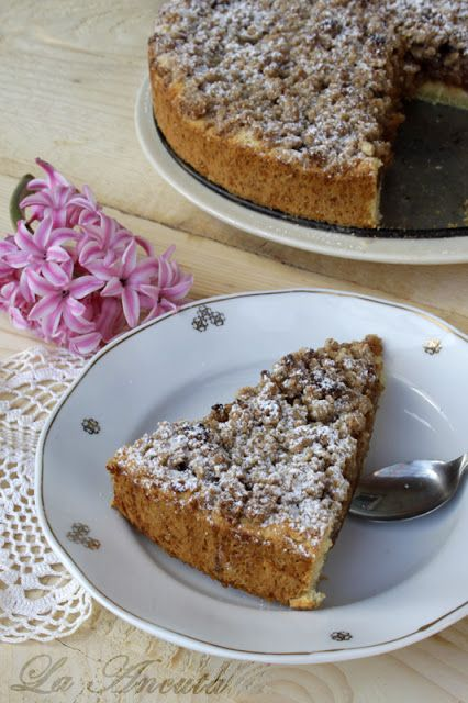 La Ancuţa: Tarta cu mere si crumble (de post)