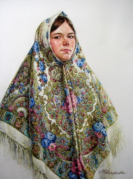 Просмотреть иллюстрацию Синие розы из сообщества русскоязычных художников автора Марина Федорова  в стилях: Реализм, нарисованная техниками: Акварель.
