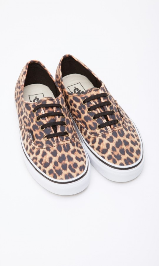 The Authentic Leopard Sneakers by Vans - Buzz Jeans $65