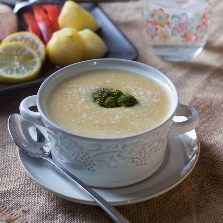 Cómo preparar un menú completo con Thermomix: Crema de zanahorias y patata. Salmón al vapor con verduras