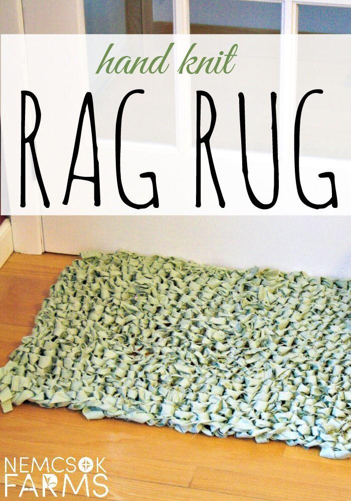 simple rag rug instructions