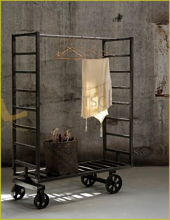 kleiderst nder industrial my blog. Black Bedroom Furniture Sets. Home Design Ideas