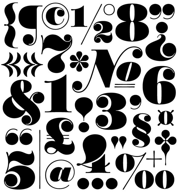Worthe Numerals $49.00 Numerical OpenType features Includes a drop shadow font