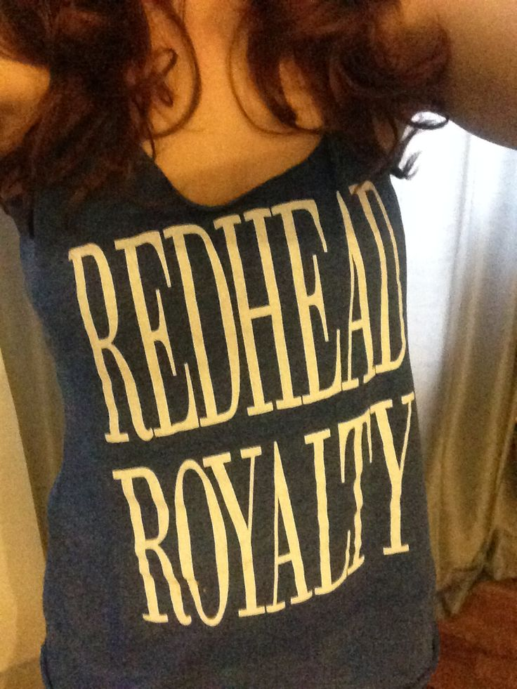 Redhead Royalty T-Shirt // How to be a Redhead