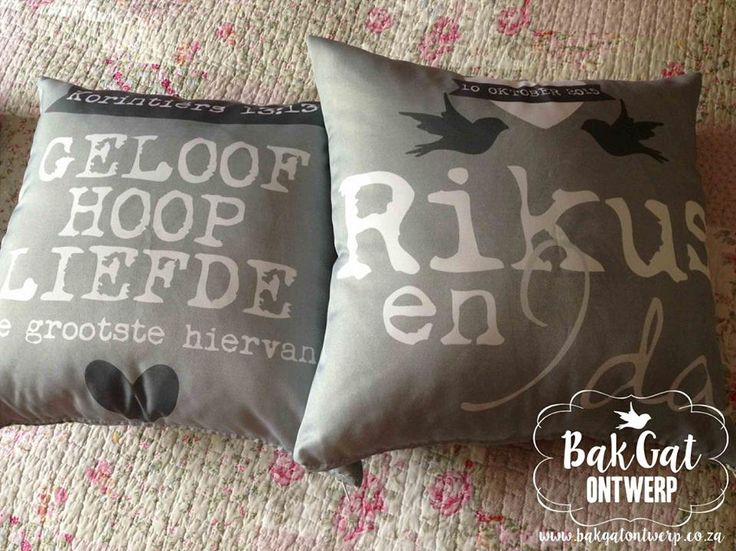 Personalised cushion for that #someonespecial