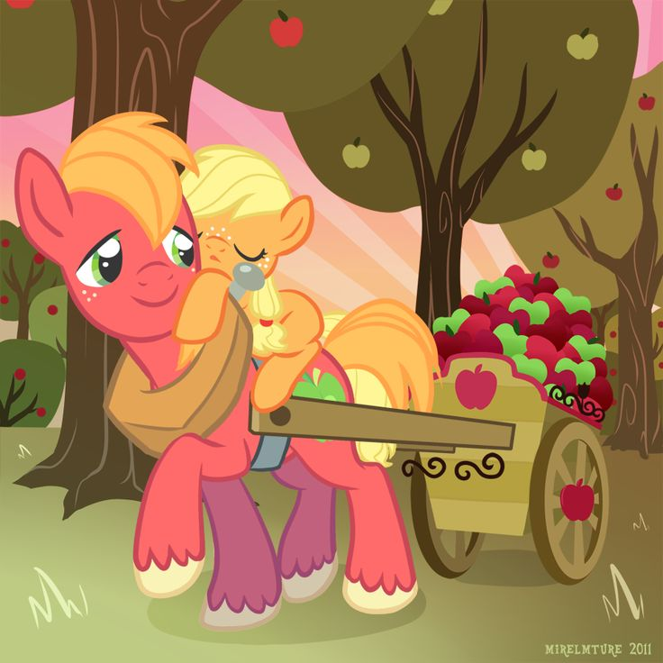 big macintosh pony | Comic: You Remind Me of Someone... / Humans in Equestria?