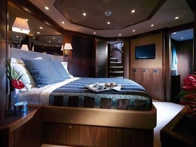 Sunseeker Yachts bedroom