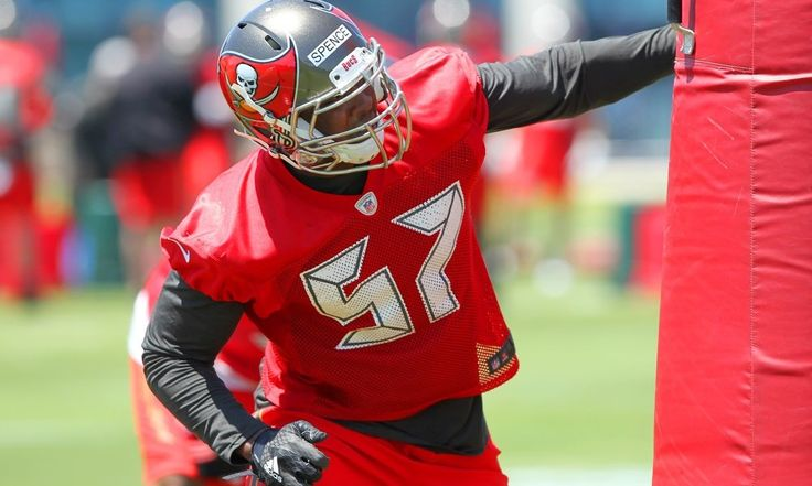 Noah Spence becoming a nightmare for opposing linemen = TAMPA — Tampa Bay Buccaneers left tackle Donovan Smith spent more than a year of his childhood walking to school every day past one of the world's most infamous haunted houses.  Ask him about.....