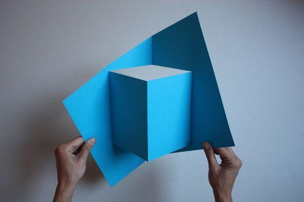 Искусство оригами от Well Well Designers.