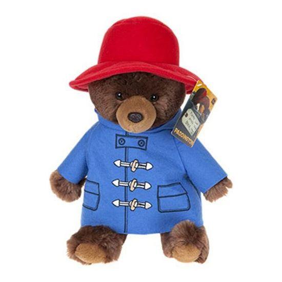 Beertje Paddington pluche van ongeveer 20 cm. De bekende Engelse beer in uitvoering van pluche. Deze knuffel heeft kleine harde kraaloogjes.