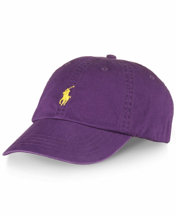 Polo Ralph Lauren Hat, Classic Chino Sports Cap - Hats, Gloves & Scarves - Men - Macy's