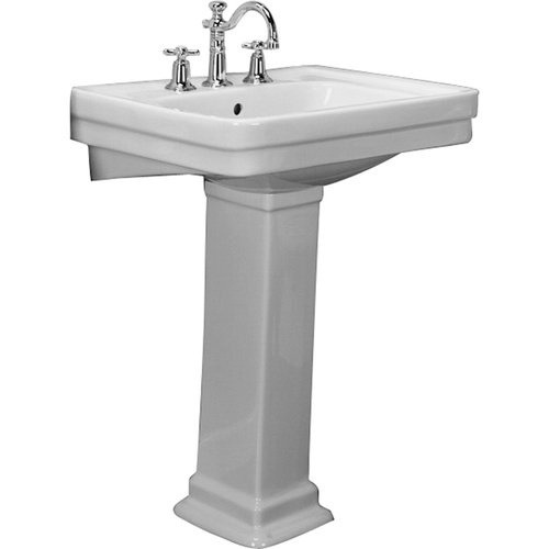 Barclay Sussex 21 5/8 Inch Pedestal Lavatory (22 X 18)