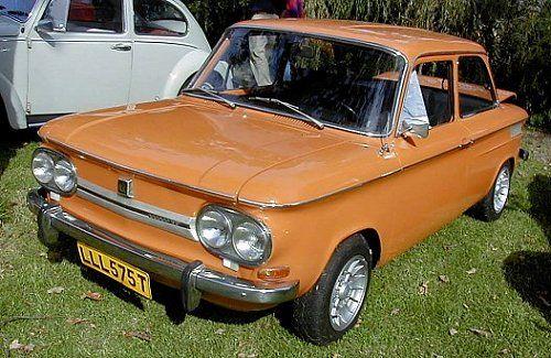 NSU 1200 TTS orange  1970