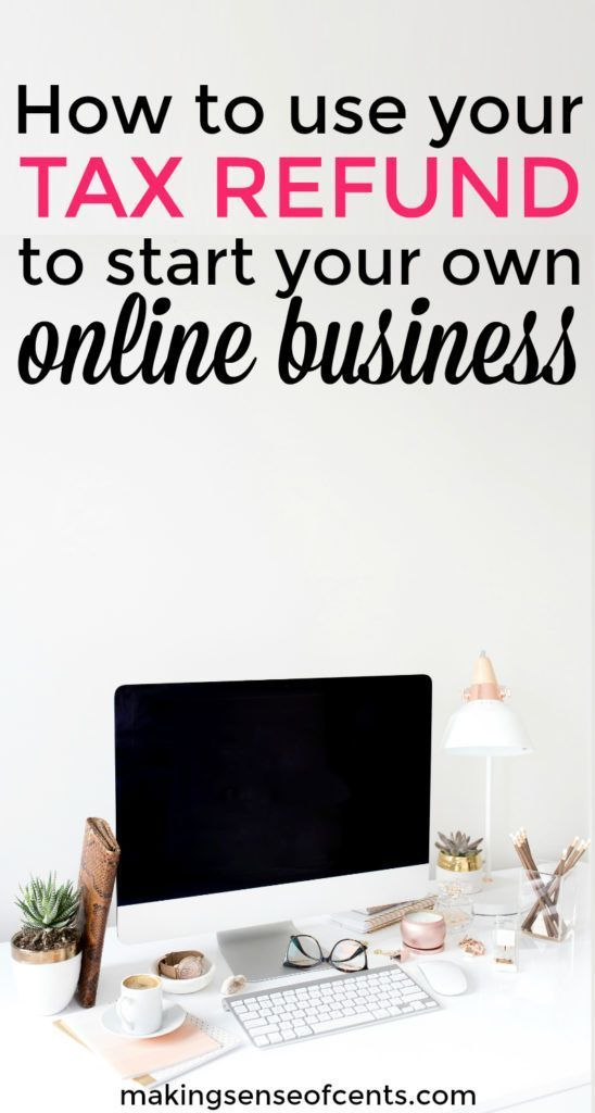 How do you plan on using your tax refund this year? Have you thought about starting an online business with it? Yes, this is an interesting idea!