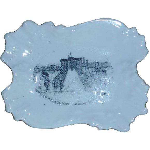 Bethany College Kansas  Pin Dish