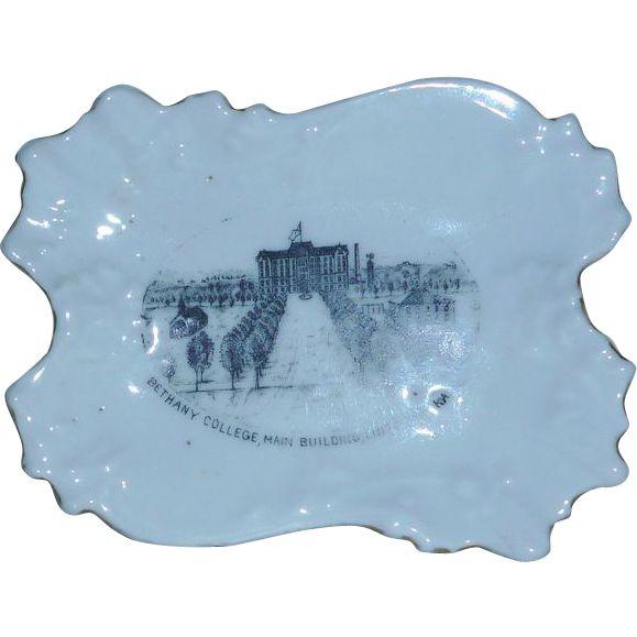Bethany College Kansas  Pin Dish