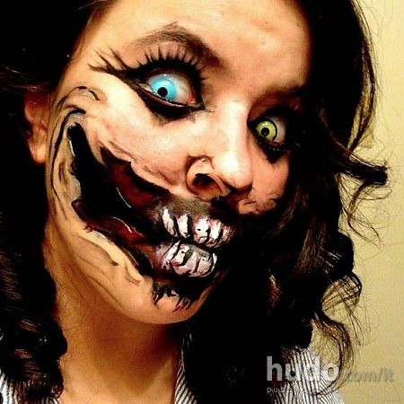 scary halloween face painting orribili maschere da halloween fotogallerie hudocom - Halloween Scary Faces