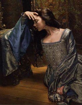 a different blue/gray dress