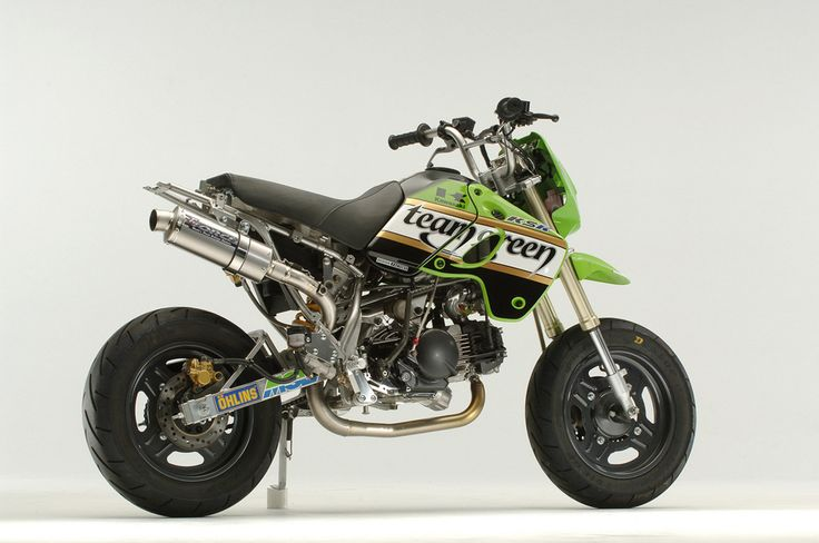 Kawasaki KSR110 - mini4temps.fr