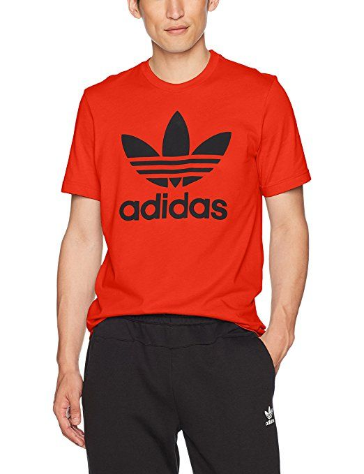 79bd47a32d17b adidas Originals Men's Trefoil Tee at Amazon Men's Clothing store ...