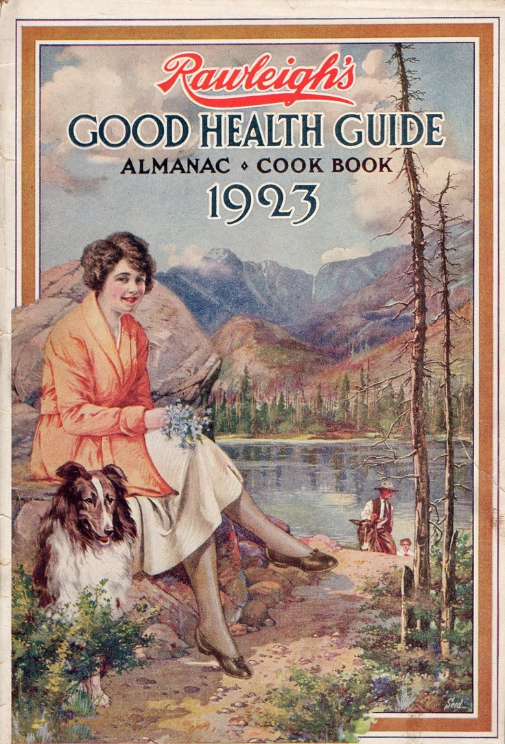 Even all the way back in 1923 we strived for good health. Imagine that!