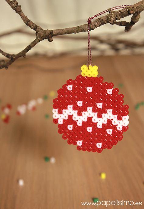 142 mejores im genes sobre christmas navidad en - Bolas arbol navidad manualidades ...
