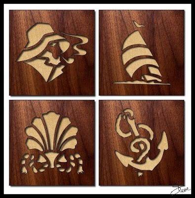 Scrollsaw Workshop: Art of the Sea Scroll Saw Patterns