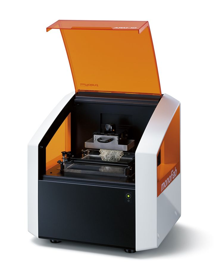 Print with exceptional detail and speed 10x smaller than filament *Roland ARM-10 3D Printer*