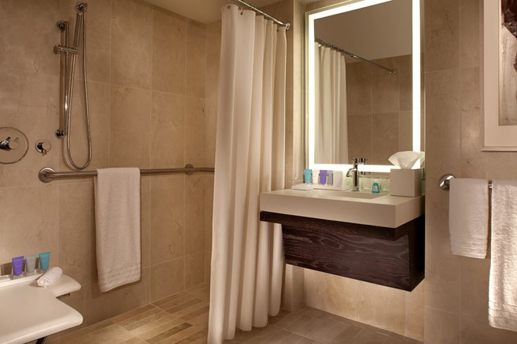 ada bathroom at conrad new york hilton home decor