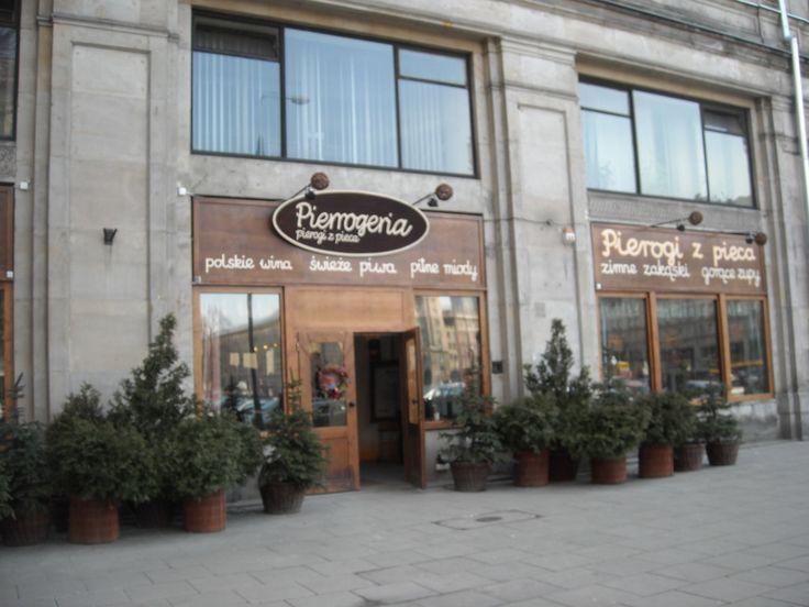 Pierrogeria in Old Town (Warsaw)