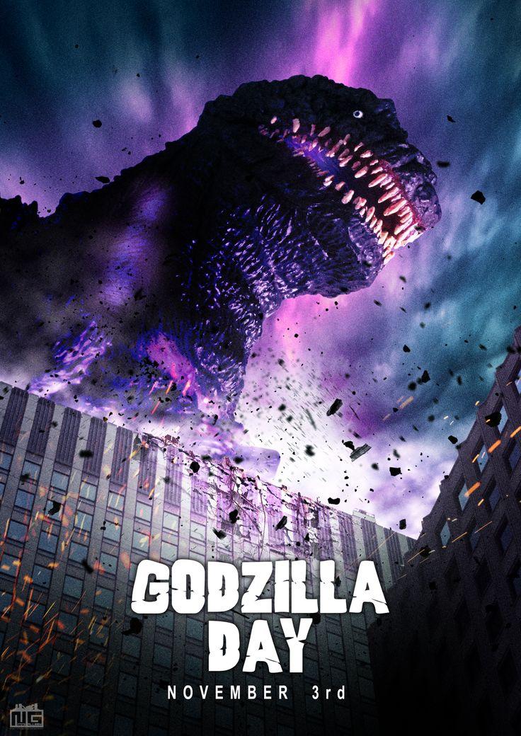 Godzilla Day, November 3rd.