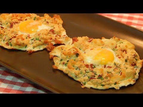 Cómo hacer huevos Napoleón receta fácil y rápida - YouTube
