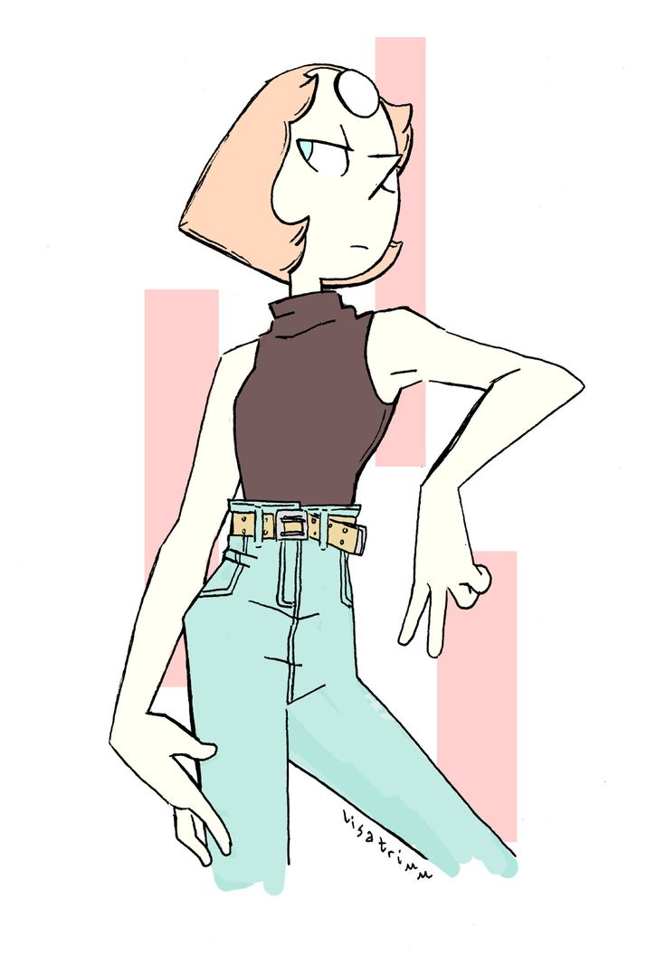 Pearl in jeans by lisatrimm