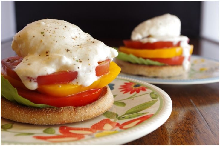 #Heirloom Eggs #Benedict 15 Divine Eggs Benedict For #Healthy Breakfast | All Yummy #Recipes