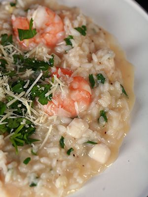 Basic Seafood Risotto :)  So easy and SO satisfying!