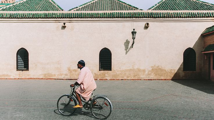 Man on bike. // City Guide to Marrakech from Project Bly and Caitlin Flemming. // #Design #Morocco #TravelCaitlin Flemming, Projects Bly, Morocco Travel, Green Stores, Design Morocco, Travel Style, Cities Guide, City Guides, Design Hotels
