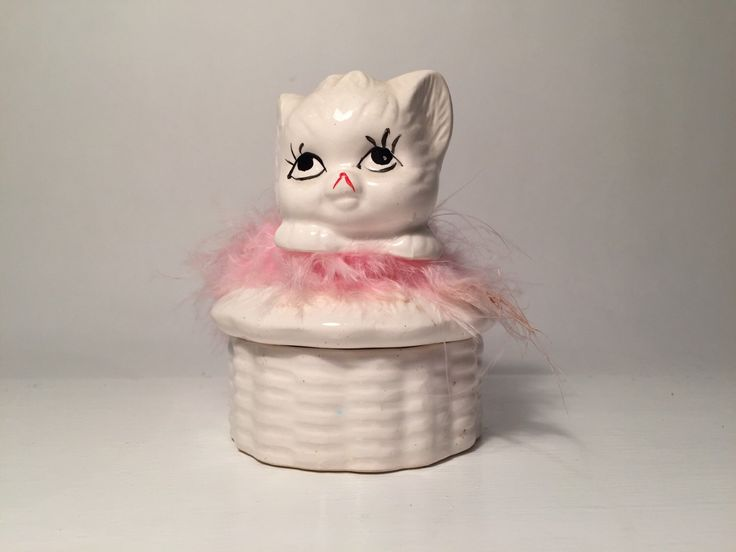 A personal favourite from my Etsy shop https://www.etsy.com/au/listing/294253301/vintage-pink-fluffy-furry-cat-kitten
