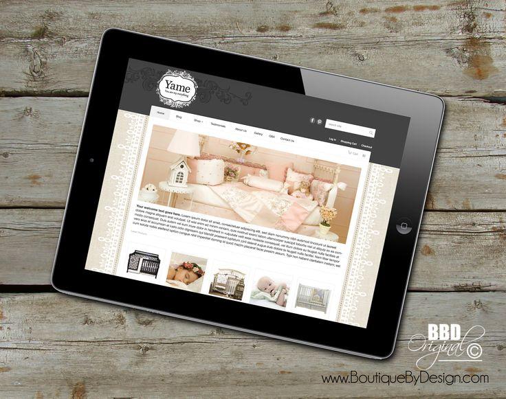 Website #responsive Design #boutiquebydesign www.boutiquebydesign.com