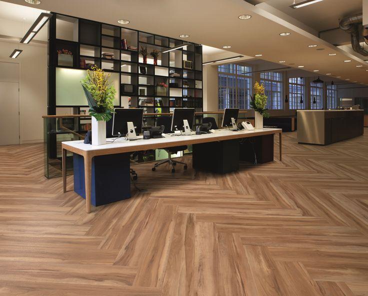 Fusion Flooring 1065 Wild Apple - bold office design