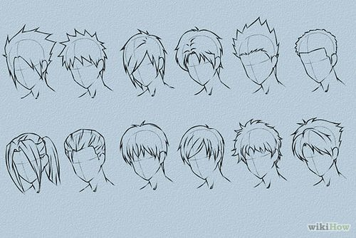 - Boy Hairstyle Drawing