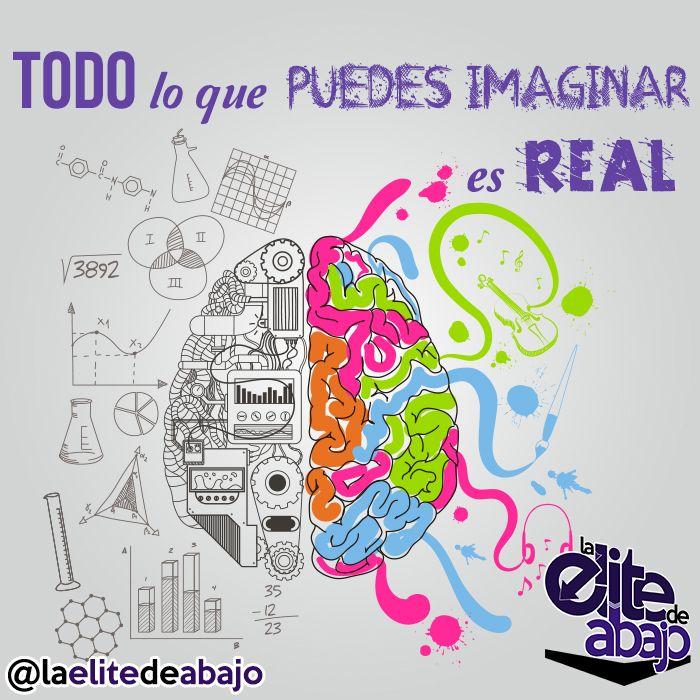 Imaginación vs. Realidad. Todo lo que puedes imaginar es real.