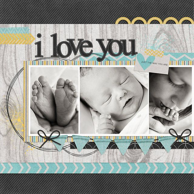 I Love You...Baby Layout