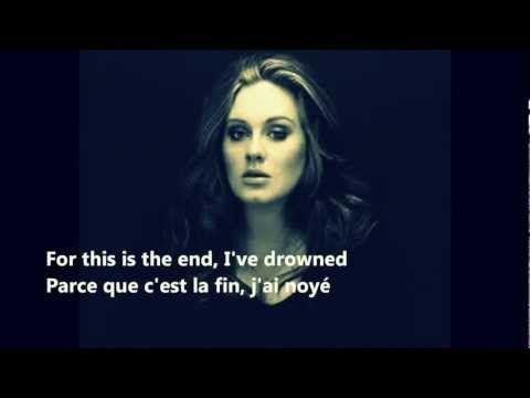 adele skyfall lyrics traduction - YouTube