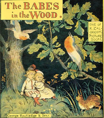 The Illustrated Mum Book Cover : The babes in wood illustrated by randolph caldecott