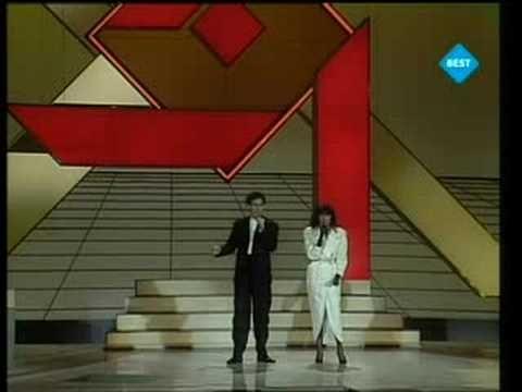 Eurovision 1984 - Italy - Alice & Franco Battiato - I treni di Tozeur