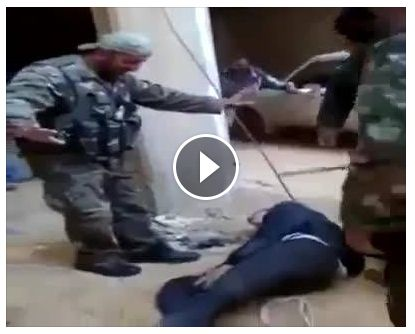 Arab versus Arab in Syria – Medieval brutality seeped in sadistic pleasure – Tarek Fatah : These horrific scenes are from Syria showing opposition soldiers beating and torturing captured government POWs. Some may argue its the other way around, but irrespective of whoever is carrying out this act, it is an Arab beating up a fellow Arab; a Muslim torturing a fellow Muslim. Some day, I hope Muslims wake up and realize, it is they who are to blame, not the West, the Jews or the Hindus. That...