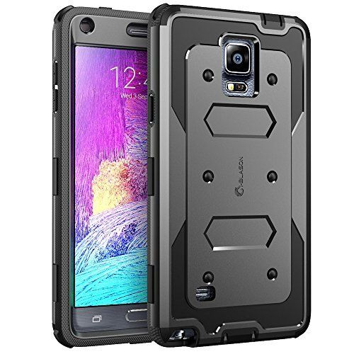 Galaxy Note 4 Case, i-Blason Armorbox Dual Layer Hybrid Full-body Protective Case For Samsung Galaxy Note 4 [SM-N910S / SM-N910C] with Front Cover and Built-in Screen Protector / Impact Resistant Bumpers (Black), http://www.amazon.co.uk/dp/B00MJ87QHQ/ref=cm_sw_r_pi_awdl_EWVzwb131FWCG